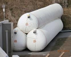 Mobiler Deich für den Hochwasserschutz der Kläranlage (k-016)