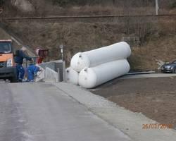 Mobiler Deich für den Hochwasserschutz der Kläranlage (k-0060)