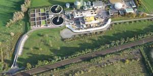 Luftbild Kläranlage gemäß den Aufnahmen aus dem Jahr 2014